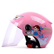 お買い得  -YEMA 207 ハーフヘルメット 子供 男女兼用 オートバイのヘルメット 堅牢性 / チャイルドセーフケース / 高通気性