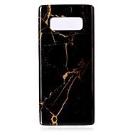 Недорогие Чехлы и кейсы для Galaxy Note 8-Кейс для Назначение SSamsung Galaxy Note 8 С узором Кейс на заднюю панель Мрамор Мягкий ТПУ для Note 8