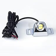 Недорогие Внешние огни для авто-1 шт. 4-местный осветительный луч 6w 3020 универсальный автомобиль грузовик запасной свет номерной знак свет с соединительным кабелем 1,8 м белый цвет