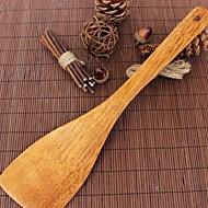 お買い得  キッチン用小物-キッチンツール ウッド 便利なグリップ / ベーキングツール へら 調理器具のための 1個