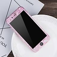 Недорогие Кейсы для iPhone 8-Кейс для Назначение Apple iPhone X / iPhone 8 С узором Чехол Мрамор Твердый ПК для iPhone X / iPhone 8 Pluss / iPhone 8