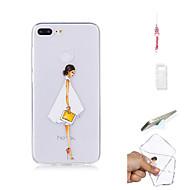 preiswerte Handyhüllen-Hülle Für Huawei Honor 9 Lite Transparent Rückseite Sexy Lady Weich TPU für Huawei Honor 9 Lite