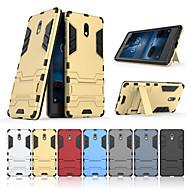 preiswerte Handyhüllen-Hülle Für Nokia Nokia 3 mit Halterung Rückseite Solide Hart PC für Nokia 3