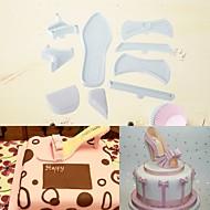 お買い得  キッチン用小物-ベークツール アルミ 新参者 / 3D / DIY ケーキのための / パーティー / 誕生日 ケーキ型 7枚