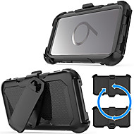 Недорогие Чехлы и кейсы для Galaxy S-Кейс для Назначение SSamsung Galaxy S9 Plus / S9 Защита от удара / со стендом Кейс на заднюю панель броня Твердый ПК для S9 / S9 Plus