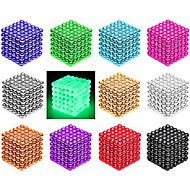 cheap Toy & Game-216/512 pcs 3mm / 5mm Magnet Toy Magnetic Balls Building Blocks Puzzle Cube Magnet Neodymium Magnet Creative Magnetic intelligent Boys' Girls' Toy Gift