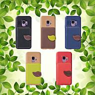 Недорогие Чехлы и кейсы для Galaxy S9 Plus-Кейс для Назначение SSamsung Galaxy S9 / S8 Кошелек / Бумажник для карт / со стендом Кейс на заднюю панель Однотонный Мягкий Кожа PU для S9 / S9 Plus / S8 Plus