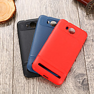 お買い得  携帯電話ケース-ケース 用途 Huawei Y3 II IMD バックカバー ソリッド ソフト TPU のために Huawei Y3 II