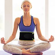 abordables Ejercicio y Fitness-Faja antisudor / Cinturón de entrenamiento Con 1 pcs Neopreno Ajustable, Eslático Pérdida de peso, Calorías Quemadas, Tummy Fat Burner por Yoga / Ejercicio y Fitness / Rutina de ejercicio Cintura