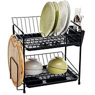 abordables Organización de encimera y pared-Organización de cocina Repisas y Soportes Metal Fácil de Usar 1pc