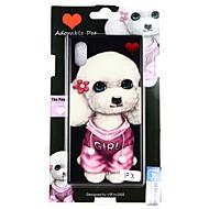 Недорогие Кейсы для iPhone 8 Plus-Кейс для Назначение Apple iPhone X / iPhone 8 С узором Кейс на заднюю панель С собакой Твердый Закаленное стекло для iPhone X / iPhone 8 Pluss / iPhone 8