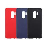 Недорогие Чехлы и кейсы для Galaxy S9-Кейс для Назначение SSamsung Galaxy S9 Plus / S9 Ультратонкий Кейс на заднюю панель Однотонный Мягкий ТПУ для S9 / S9 Plus / S8 Plus