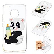 preiswerte Handyhüllen-Hülle Für Motorola G5 Plus Muster Rückseite Panda Weich TPU für Moto G5 plus