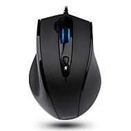 お買い得  マウス-A4TECH 有線USB オフィスマウス 光学 N-810FX 5 pcs キー 4調整可能なDPIレベル 800/1000/1200/1600 dpi
