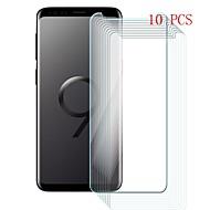 お買い得  Samsung 用スクリーンプロテクター-スクリーンプロテクター のために Samsung Galaxy S9 Plus 強化ガラス 10枚 スクリーンプロテクター 硬度9H / 傷防止