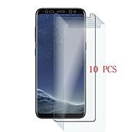 abordables Galaxy Note Protectores de Pantalla-Protector de pantalla para Samsung Galaxy Note 8 Vidrio Templado 10 piezas Protector de Pantalla Frontal Dureza 9H / Anti-Arañazos