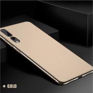 お買い得  携帯電話ケース-ケース 用途 Huawei P20 Pro / P20 lite つや消し バックカバー ソリッド ハード PC のために Huawei P20 / Huawei P20 Pro / Huawei P20 lite