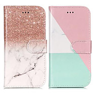 Case For Samsung Galaxy A8 Plus 2018 / A8 2018 Wallet / Card Holder / with Stand Full Body Cases Marble Hard PU Leather for A5(2018) / A3(2017) / A5(2017)