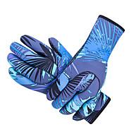 abordables Deportes Acuáticos-SBART Guantes de buceo 3mm Nailon / Neopreno Dedos completos Mantiene abrigado, Antideslizante, Protector Buceo / Submarinismo