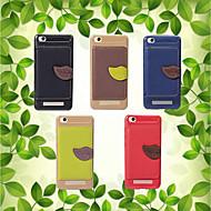 preiswerte Handyhüllen-Hülle Für Xiaomi Redmi Note 5A / Mi 6X Ultra dünn Rückseite Solide Weich PU-Leder für Redmi Note 5A / Redmi 5A / Xiaomi Redmi 5 Plus
