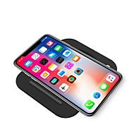 abordables Cargadores Wireless para iPhone-Cargador Wireless Cargador usb USB con el cable / Cargador Wireless / Qi 2 A / 1 A DC 9V / DC 5V iPhone X / iPhone 8 Plus / iPhone 8