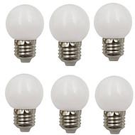 お買い得  LED ボール型電球-6本 2 W 80 lm E26 / E27 LEDボール型電球 G45 8 LEDビーズ SMD 2835 装飾用 温白色 / クールホワイト 220-240 V