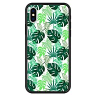 cheap -Case For Apple iPhone X / iPhone 8 Plus Pattern Back Cover Plants / Cartoon Hard Acrylic for iPhone X / iPhone 8 Plus / iPhone 8