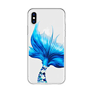 cheap -Case For Apple iPhone X / iPhone 8 Plus Pattern Back Cover Cartoon Soft TPU for iPhone X / iPhone 8 Plus / iPhone 8
