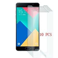 Недорогие Чехлы и кейсы для Galaxy A-Защитная плёнка для экрана для Samsung Galaxy A5(2016) Закаленное стекло 10 ед. Защитная пленка для экрана Уровень защиты 9H / Защита от царапин