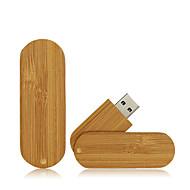 お買い得  -Ants 32GB USBフラッシュドライブ USBディスク USB 2.0 ウッド / 丈 回転