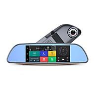 Недорогие Видеорегистраторы для авто-Factory OEM H2. 720p HD / Ночное видение Автомобильный видеорегистратор 140° Широкий угол 5.0 Мп КМОП 7 дюймовый IPS Капюшон с WIFI / Ночное видение / Циклическая запись Нет Автомобильный рекордер