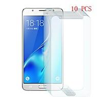 お買い得  Samsung 用スクリーンプロテクター-スクリーンプロテクター のために Samsung Galaxy J5 (2016) 強化ガラス 10枚 スクリーンプロテクター 硬度9H / 傷防止