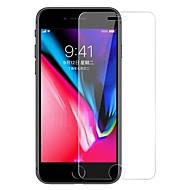 Недорогие Защитные плёнки для экранов iPhone 8-Защитная плёнка для экрана для Apple iPhone 8 / iPhone 7 Закаленное стекло 1 ед. Защитная пленка для экрана HD / Уровень защиты 9H / Против отпечатков пальцев