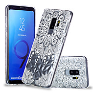 Недорогие Чехлы и кейсы для Galaxy S9 Plus-Кейс для Назначение SSamsung Galaxy S9 Plus / S9 С узором Кейс на заднюю панель Мандала Мягкий ТПУ для S9 / S9 Plus / S8 Plus