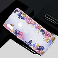 お買い得  携帯電話ケース-ケース 用途 Xiaomi Redmi S2 / Mi 5X クリア / 半透明 / パターン バックカバー フラワー ソフト TPU のために Redmi Note 5A / Xiaomi Redmi Note 4X / Xiaomi Redmi Note 4