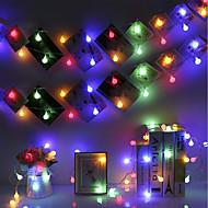 cheap -BRELONG® 1pc LED Night Light RGB AC Powered Wedding / Birthday / Decoration 220-240 V