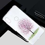 お買い得  携帯電話ケース-ケース 用途 Xiaomi Redmi S2 / Mi 5X クリア / 半透明 / パターン バックカバー 木 ソフト TPU のために Redmi Note 5A / Xiaomi Redmi Note 4X / Xiaomi Redmi Note 4