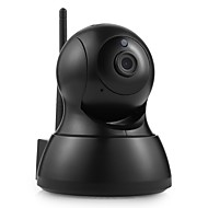 お買い得  -sannce®ワイヤレスミニipカメラ監視カメラwifi 720p屋内ベビーモニターsdカードsuppor 64ギガバイト