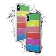 Недорогие Кейсы для iPhone 8 Plus-Кейс для Назначение Apple iPhone X / iPhone 8 Защита от удара Кейс на заднюю панель Однотонный Твердый Закаленное стекло для iPhone X / iPhone 8 Pluss / iPhone 8