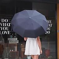 Недорогие Защита от дождя-Пластиковые & Металл / Ткань Все обожаемый / Cool / Recyclable Складные зонты