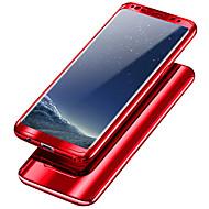 Недорогие Чехлы и кейсы для Galaxy S7 Edge-Кейс для Назначение SSamsung Galaxy S9 Plus / S9 Защита от удара / Покрытие Чехол Однотонный Твердый ПК для S9 / S9 Plus / S8 Plus
