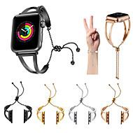 Bracelet de Montre  pour Apple Watch Series 4/3/2/1 Apple Bracelet Sport Acier Inoxydable Sangle de Poignet