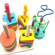 abordables Juguetes Educativos-Ábaco Colegio / El modelo geométrico Creativo De madera / Compuestos de madera y plástico 2 pcs Piezas Niño / Elemental Regalo