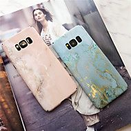 Недорогие Чехлы и кейсы для Galaxy S9-Кейс для Назначение SSamsung Galaxy S9 Plus / S9 Матовое Кейс на заднюю панель Мрамор Твердый ПК для S9 / S9 Plus / S8 Plus