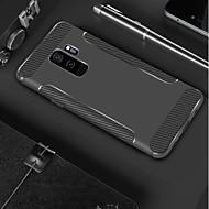 Недорогие Чехлы и кейсы для Galaxy S8-Кейс для Назначение SSamsung Galaxy S9 Plus / S9 Матовое Кейс на заднюю панель Однотонный Мягкий ТПУ для S9 / S9 Plus / S8 Plus