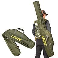 abordables Cajas para Pesca-leo plegables caña de pescar bolsas bolsas de pesca 420d con cremallera caja de herramientas de almacenamiento de herramientas de bolsa de caja de herramientas de pesca 100 cm / 150 cm