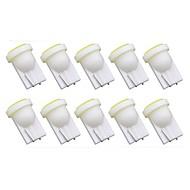 abordables Intermitentes para Coche-10pcs T10 Coche Bombillas 1 W COB 50 lm 1 LED Luz de Intermitente Para