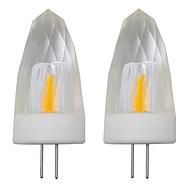 お買い得  LED キャンドルライト-2pcs 3 W 150-200 lm G4 LEDキャンドルライト 1 LEDビーズ COB 装飾用 温白色 / クールホワイト 220-240 V