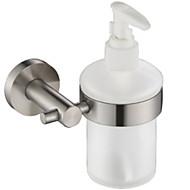 お買い得  浴室用小物-ソープディスペンサー 新デザイン / クール コンテンポラリー ステンレス鋼 / 鉄 1個 壁式