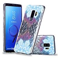 Недорогие Чехлы и кейсы для Galaxy S8-Кейс для Назначение SSamsung Galaxy S9 Plus / S9 Прозрачный / С узором Кейс на заднюю панель Мандала Мягкий ТПУ для S9 / S9 Plus / S8 Plus
